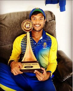 Mayank Agarwal Biography